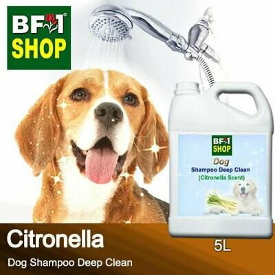 Dog Shampoo Deep Clean (DSDC-Dog) - Citronella - 5L ⭐⭐⭐⭐⭐