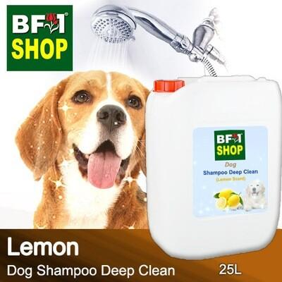 Dog Shampoo Deep Clean (DSDC-Dog) - Lemon - 25L ⭐⭐⭐⭐⭐