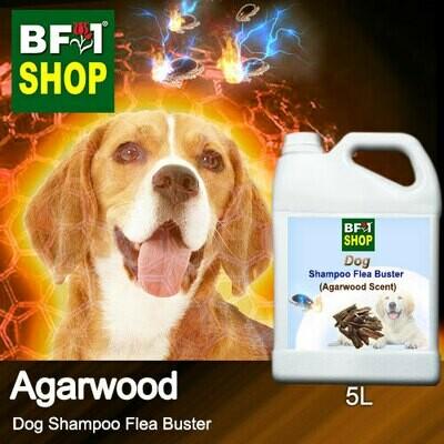 Dog Shampoo Flea Buster (DSO-Dog) - Agarwood - 5L ⭐⭐⭐⭐⭐