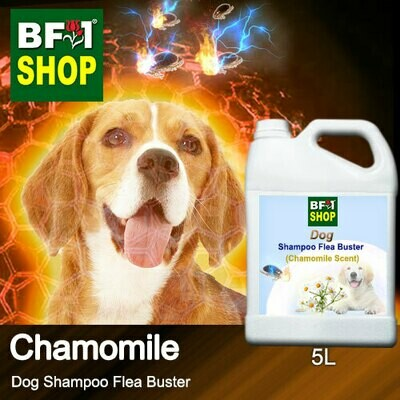 Dog Shampoo Flea Buster (DSO-Dog) - Chamomile - 5L ⭐⭐⭐⭐⭐