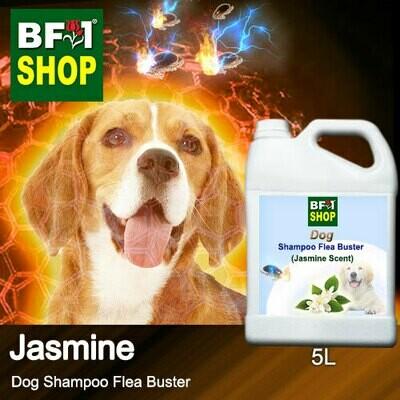 Dog Shampoo Flea Buster (DSO-Dog) - Jasmine - 5L ⭐⭐⭐⭐⭐