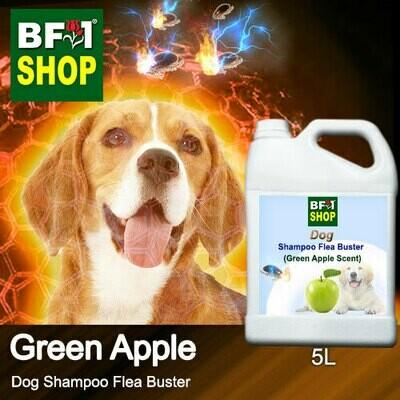 Dog Shampoo Flea Buster (DSO-Dog) - Apple - Green Apple - 5L ⭐⭐⭐⭐⭐