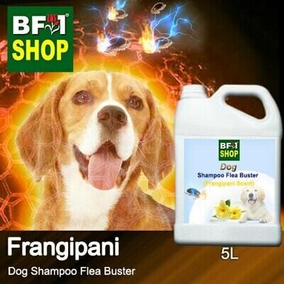 Dog Shampoo Flea Buster (DSO-Dog) - Frangipani - 5L ⭐⭐⭐⭐⭐