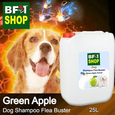 Dog Shampoo Flea Buster (DSO-Dog) - Apple - Green Apple - 25L ⭐⭐⭐⭐⭐