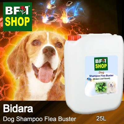 Dog Shampoo Flea Buster (DSO-Dog) - Bidara - 25L ⭐⭐⭐⭐⭐