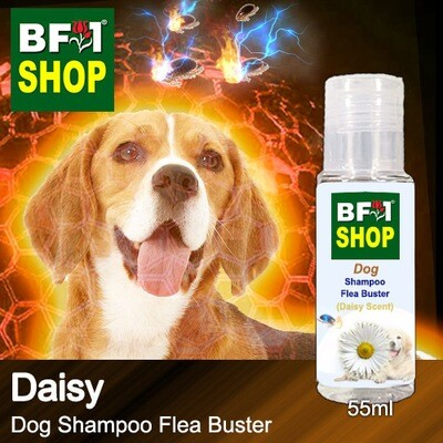 Dog Shampoo Flea Buster (DSO-Dog) - Daisy - 55ml ⭐⭐⭐⭐⭐