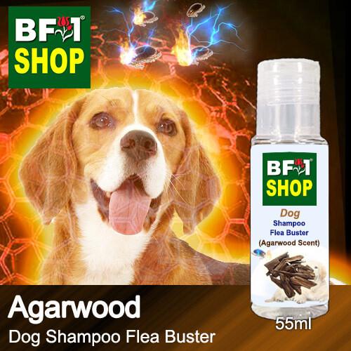 Dog Shampoo Flea Buster (DSO-Dog) - Agarwood - 55ml ⭐⭐⭐⭐⭐