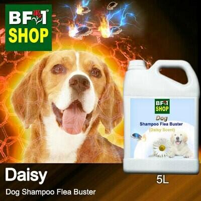 Dog Shampoo Flea Buster (DSO-Dog) - Daisy - 5L ⭐⭐⭐⭐⭐