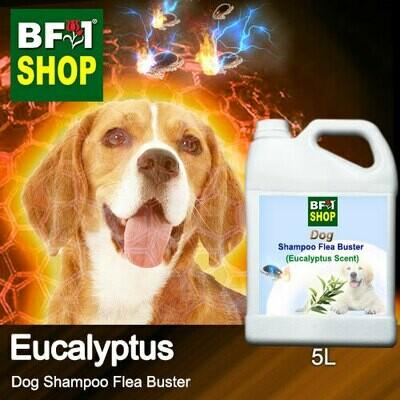 Dog Shampoo Flea Buster (DSO-Dog) - Eucalyptus - 5L ⭐⭐⭐⭐⭐