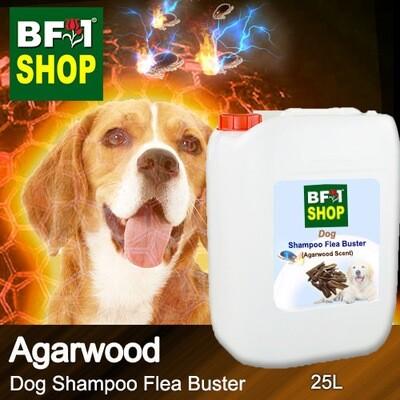 Dog Shampoo Flea Buster (DSO-Dog) - Agarwood - 25L ⭐⭐⭐⭐⭐