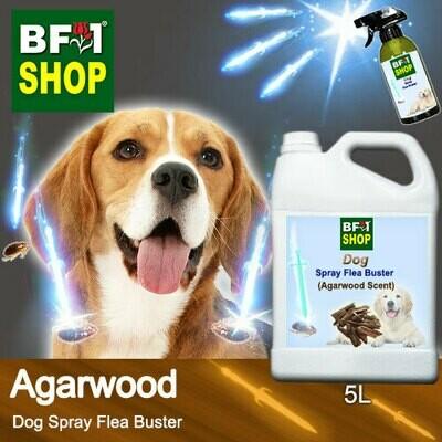 Dog Spray Flea Buster (DSY-Dog) - Agarwood - 5L ⭐⭐⭐⭐⭐
