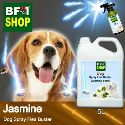 Dog Spray Flea Buster (DSY-Dog) - Jasmine - 5L ⭐⭐⭐⭐⭐