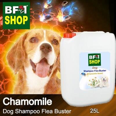 Dog Shampoo Flea Buster (DSO-Dog) - Chamomile - 25L ⭐⭐⭐⭐⭐