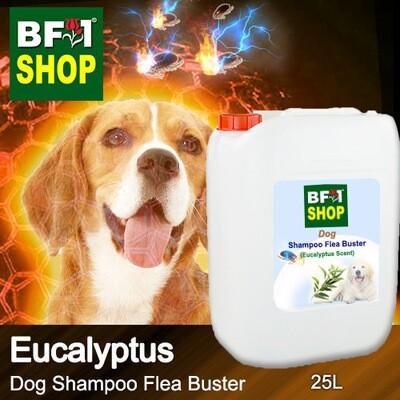 Dog Shampoo Flea Buster (DSO-Dog) - Eucalyptus - 25L ⭐⭐⭐⭐⭐