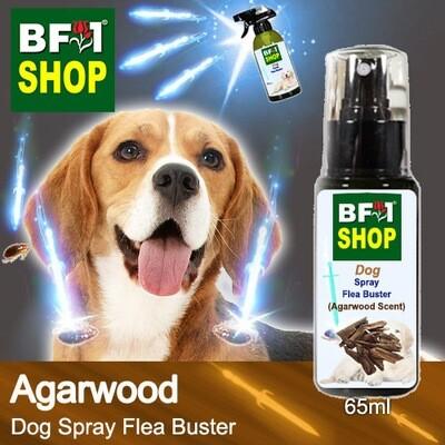 Dog Spray Flea Buster (DSY-Dog) - Agarwood - 65ml ⭐⭐⭐⭐⭐