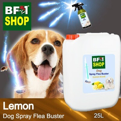 Dog Spray Flea Buster (DSY-Dog) - Lemon - 25L ⭐⭐⭐⭐⭐