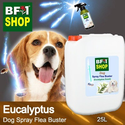 Dog Spray Flea Buster (DSY-Dog) - Eucalyptus - 25L ⭐⭐⭐⭐⭐