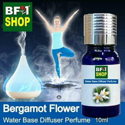 Aromatic Water Base Perfume (WBP) - Bergamot Flower - 10ml Diffuser Perfume