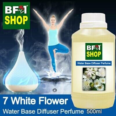 Aromatic Water Base Perfume (WBP) - 7 White Flower - 500ml Diffuser Perfume