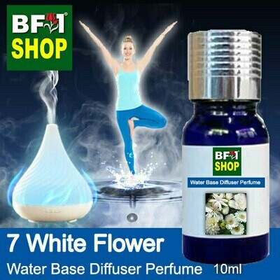 Aromatic Water Base Perfume (WBP) - 7 White Flower - 10ml Diffuser Perfume
