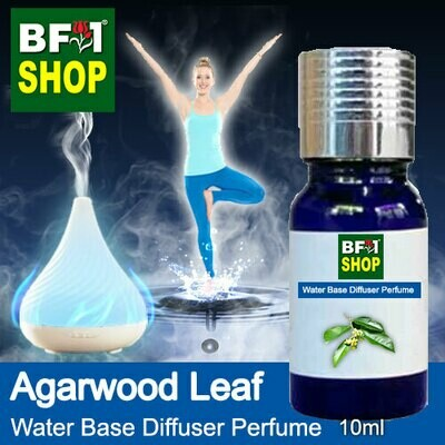 Aromatic Water Base Perfume (WBP) - Agarwood Leaf - 10ml Diffuser Perfume