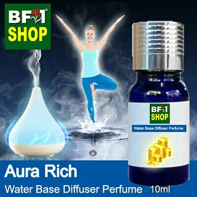 Aromatic Water Base Perfume (WBP) - Aura Rich - 10ml Diffuser Perfume
