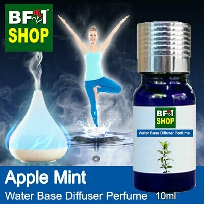 Aromatic Water Base Perfume (WBP) - Apple Mint - 10ml Diffuser Perfume