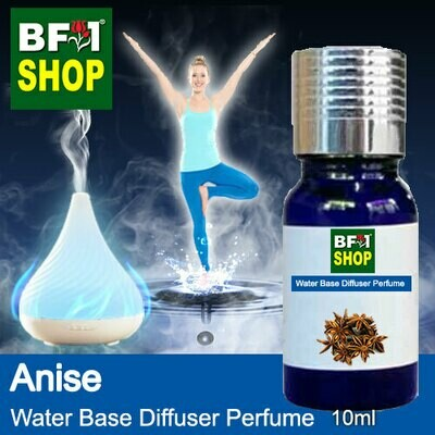 Aromatic Water Base Perfume (WBP) - Anise - 10ml Diffuser Perfume