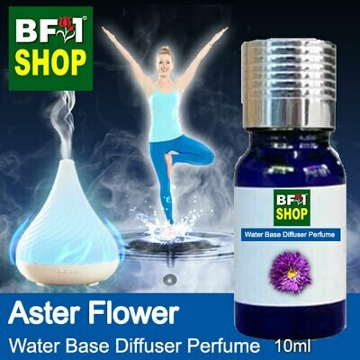 Aromatic Water Base Perfume (WBP) - Aster Flower - 10ml Diffuser Perfume