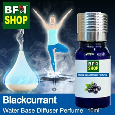 Aromatic Water Base Perfume (WBP) - Blackcurrant - 10ml Diffuser Perfume