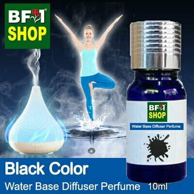 Aromatic Water Base Perfume (WBP) - Black Color - 10ml Diffuser Perfume