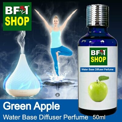 Aromatic Water Base Perfume (WBP) - Apple Green Apple - 50ml Diffuser Perfume