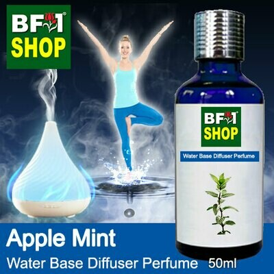 Aromatic Water Base Perfume (WBP) - Apple Mint - 50ml Diffuser Perfume