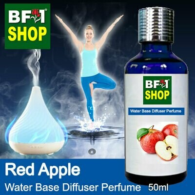 Aromatic Water Base Perfume (WBP) - Apple Red Apple - 50ml Diffuser Perfume