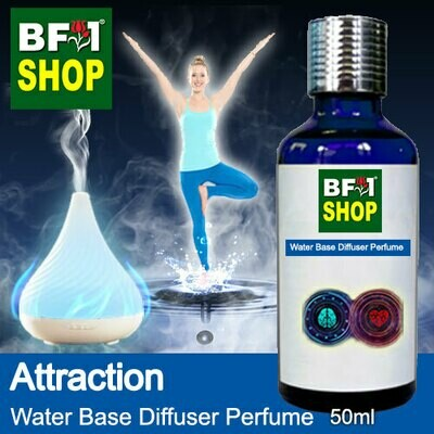 Aromatic Water Base Perfume (WBP) - Attraction - 50ml Diffuser Perfume