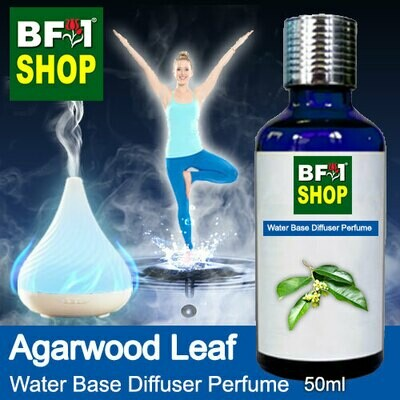 Aromatic Water Base Perfume (WBP) - Agarwood Leaf - 50ml Diffuser Perfume
