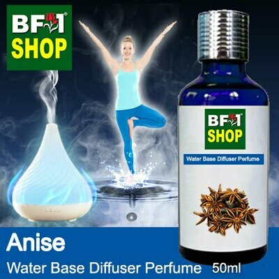 Aromatic Water Base Perfume (WBP) - Anise - 50ml Diffuser Perfume