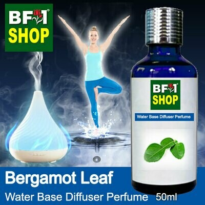 Aromatic Water Base Perfume (WBP) - Bergamot Leaf - 50ml Diffuser Perfume