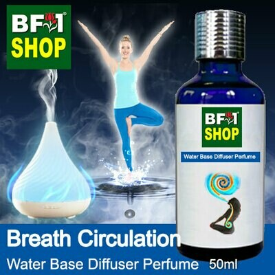 Aromatic Water Base Perfume (WBP) - Breath Circulation - 50ml Diffuser Perfume