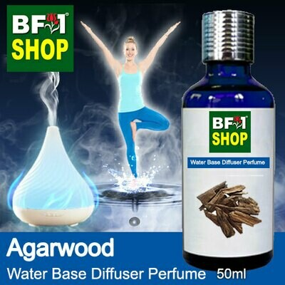 Aromatic Water Base Perfume (WBP) - Agarwood - 50ml Diffuser Perfume