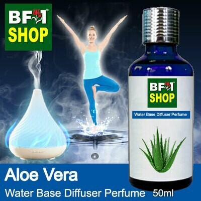 Aromatic Water Base Perfume (WBP) - Aloe Vera - 50ml Diffuser Perfume