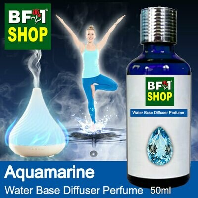 Aromatic Water Base Perfume (WBP) - Aquamarine - 50ml Diffuser Perfume