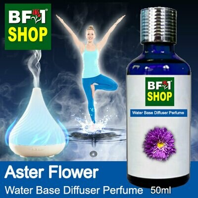 Aromatic Water Base Perfume (WBP) - Aster Flower - 50ml Diffuser Perfume