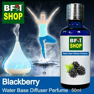Aromatic Water Base Perfume (WBP) - Blackberry - 50ml Diffuser Perfume