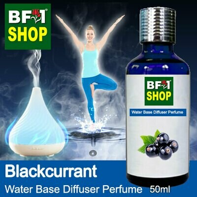 Aromatic Water Base Perfume (WBP) - Blackcurrant - 50ml Diffuser Perfume