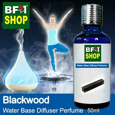 Aromatic Water Base Perfume (WBP) - Black Wood - 50ml Diffuser Perfume
