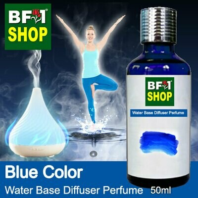 Aromatic Water Base Perfume (WBP) - Blue Color - 50ml Diffuser Perfume
