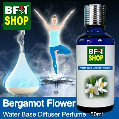 Aromatic Water Base Perfume (WBP) - Bergamot Flower - 50ml Diffuser Perfume