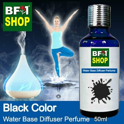 Aromatic Water Base Perfume (WBP) - Black Color - 50ml Diffuser Perfume