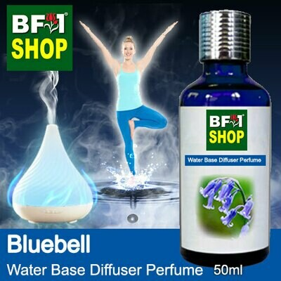 Aromatic Water Base Perfume (WBP) - Bluebell - 50ml Diffuser Perfume